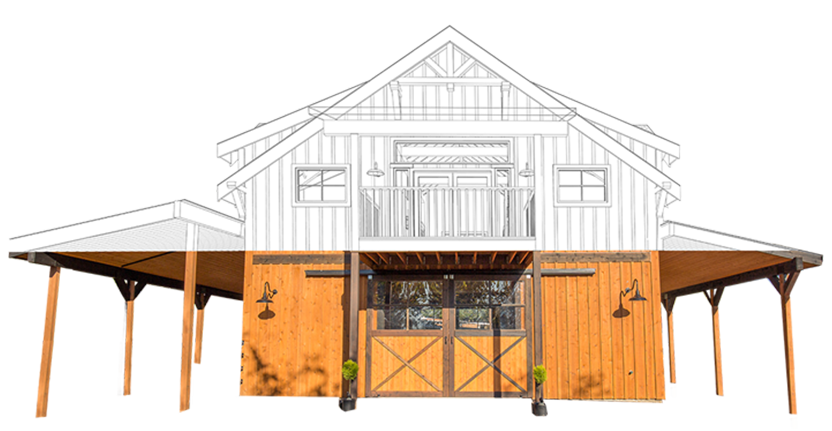 Pole barn homes 101 how to build diy or with contractor for How much is the cost to build a house