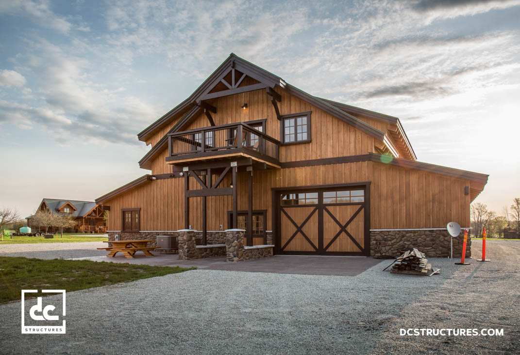 DC Structures Pole Barn Builder