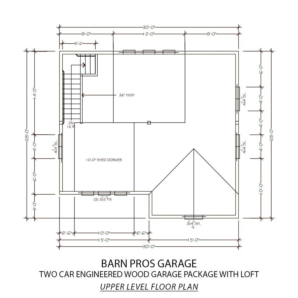 Barn Pros Garage Kits For Sale
