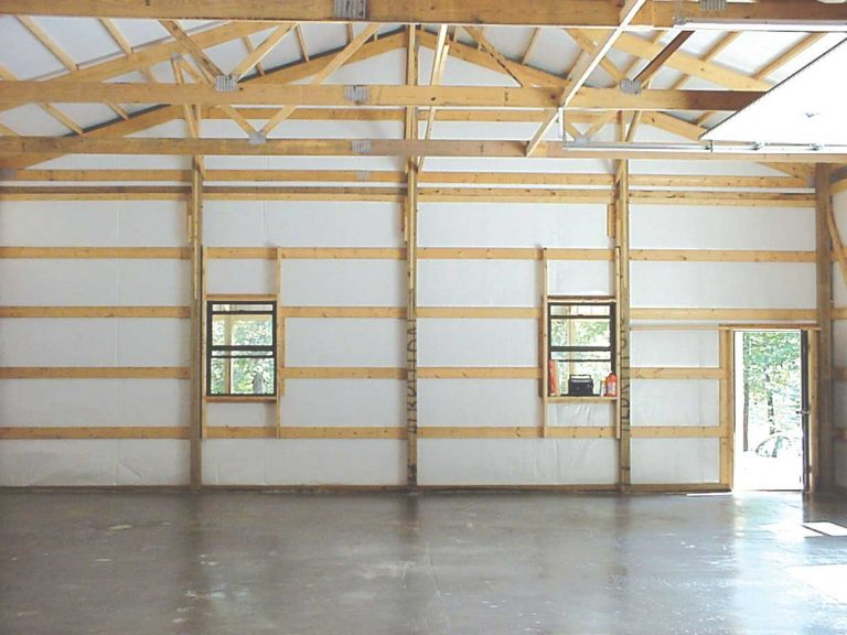 Pole Barn Insulation